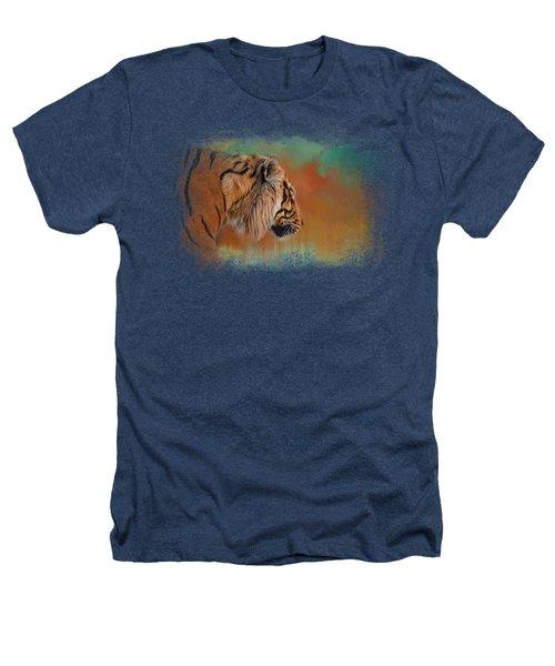 Bengal Energy Heathers T-Shirt by Jai Johnson