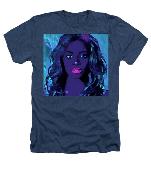 Beyonce Graphic Abstract Heathers T-Shirt