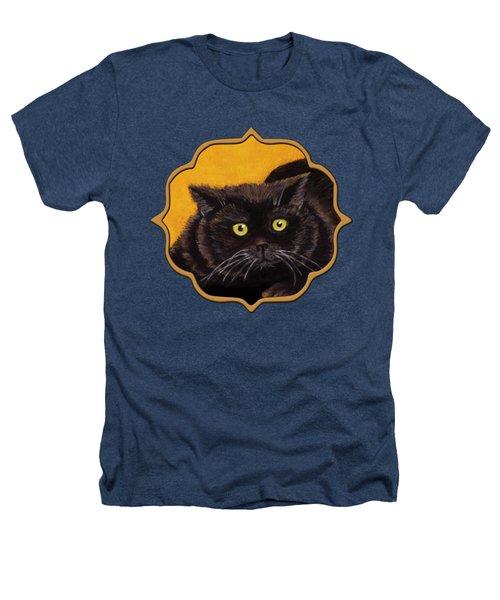 Black Cat Heathers T-Shirt