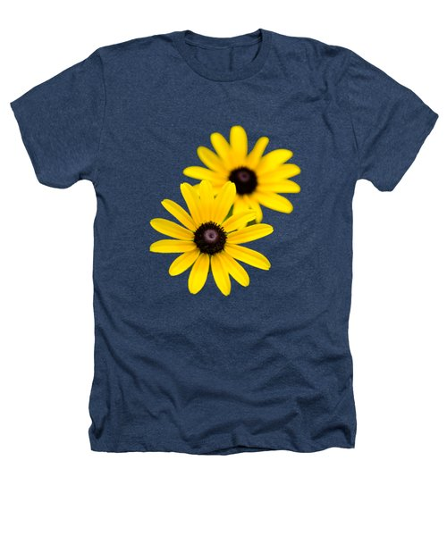 Black Eyed Susans Heathers T-Shirt by Christina Rollo