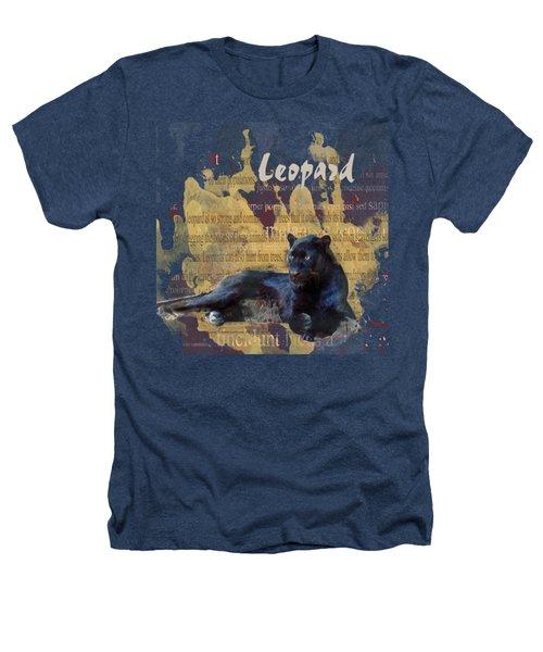 Black Leopard Heathers T-Shirt
