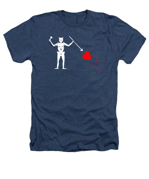 Blackbeard Pirate Flag Tee Heathers T-Shirt