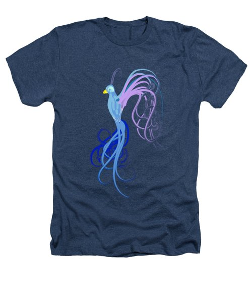 Blu Heathers T-Shirt by Diq