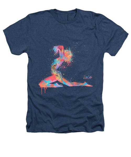 Bodyscape In D Minor - Music Of The Body Heathers T-Shirt