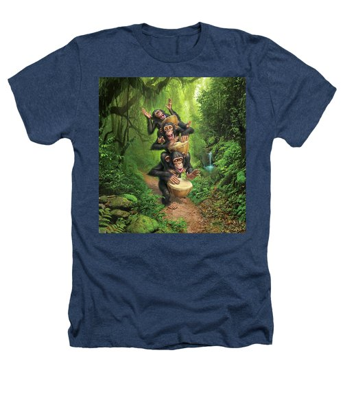 Bongo In The Jungle Heathers T-Shirt