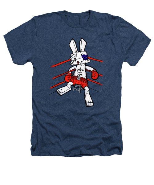 Boxer Bunny Heathers T-Shirt by Bizarre Bunny