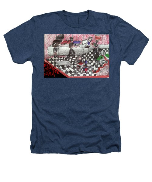 Cafe Bacteria Heathers T-Shirt