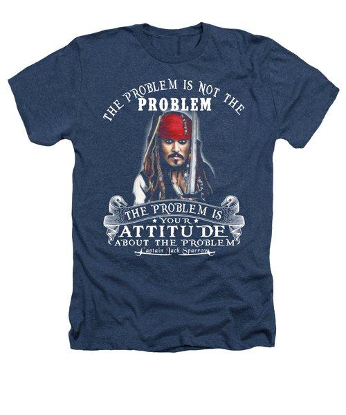 Captain Jack Sparrow Heathers T-Shirt by Smith