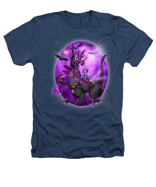 Cat In Goth Witch Hat Heathers T-Shirt