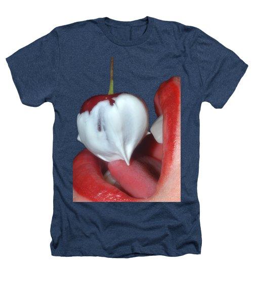Cherries And Cream Heathers T-Shirt