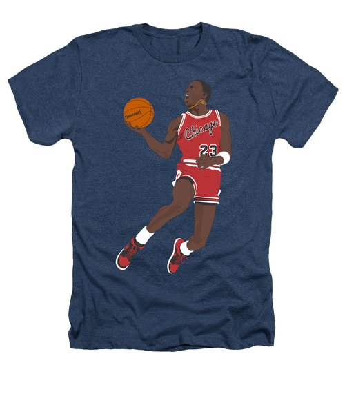 Chicago Bulls - Michael Jordan - 1985 Heathers T-Shirt