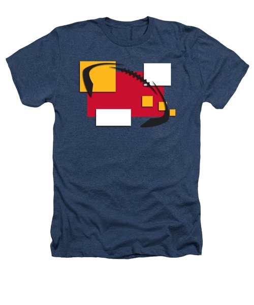 Chiefs Abstract Shirt Heathers T-Shirt by Joe Hamilton