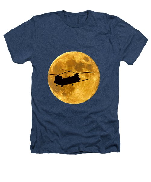 Chinook Moon Color .png Heathers T-Shirt