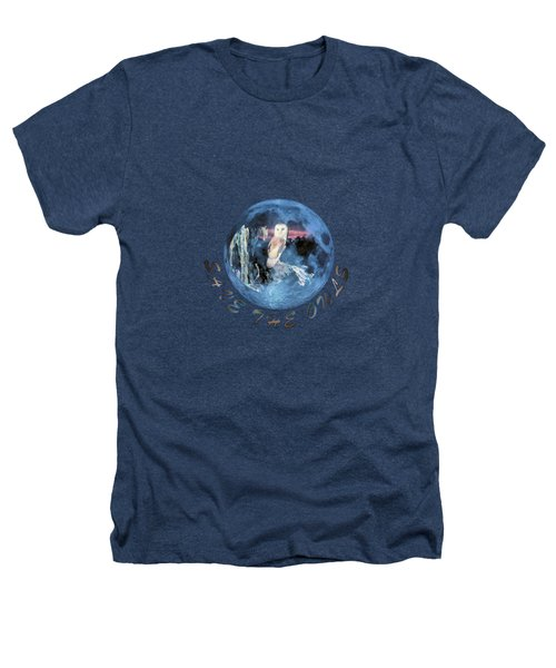 City Lights Heathers T-Shirt by Valerie Anne Kelly