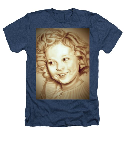Classic Shirley Temple Heathers T-Shirt by Fred Larucci