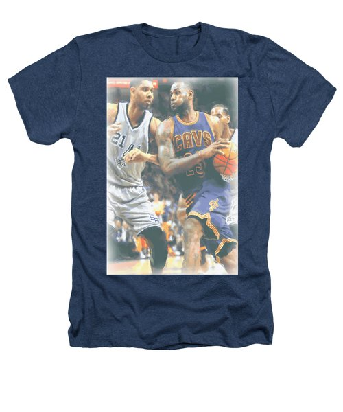 Cleveland Cavaliers Lebron James 4 Heathers T-Shirt