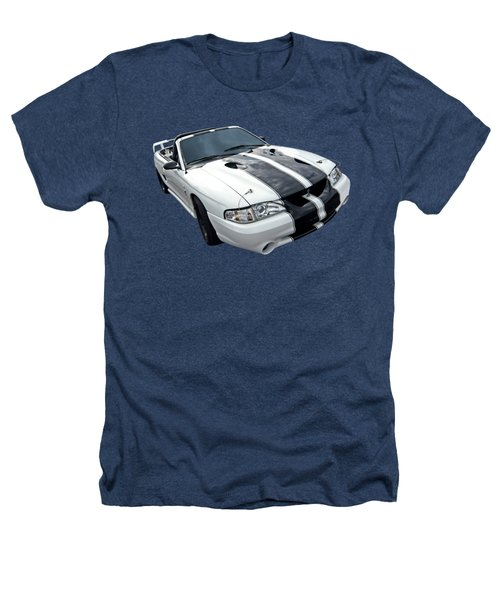 Cobra Mustang Convertible Heathers T-Shirt by Gill Billington