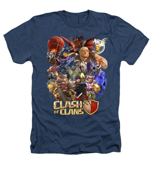 Coc Troops Heathers T-Shirt