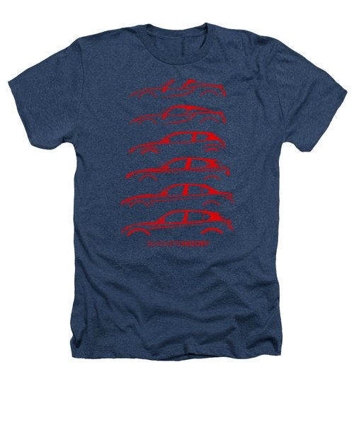 Contemporary Lombard  Silhouettehistory Heathers T-Shirt by Gabor Vida