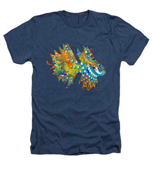 Cosmic Guppy Heathers T-Shirt by Deborah Runham