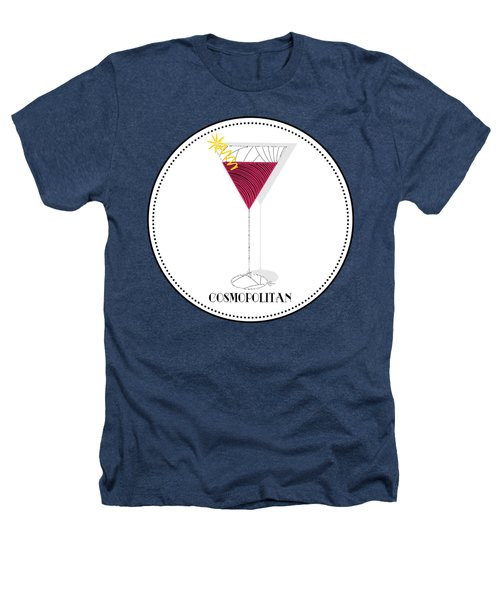 Cosmopolitan Cocktail Pop Art Deco  Heathers T-Shirt