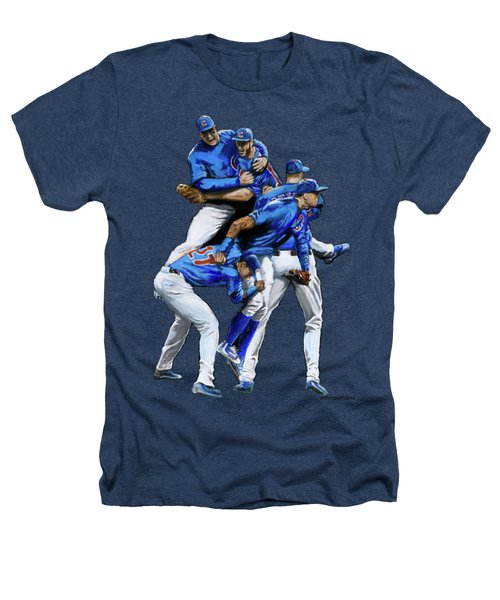 Cubs Win Heathers T-Shirt