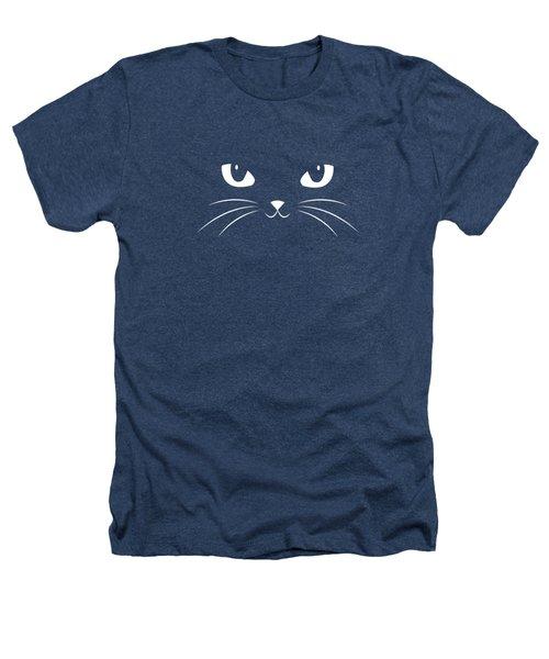 Cute Black Cat Heathers T-Shirt by Philipp Rietz