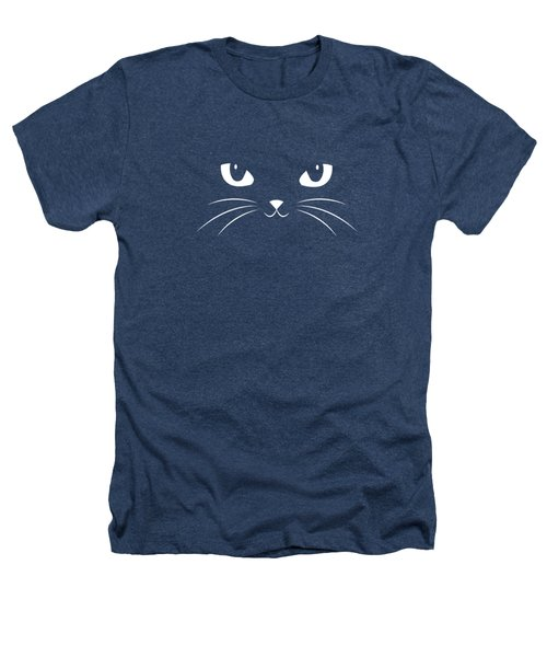 Cute Black Cat Heathers T-Shirt