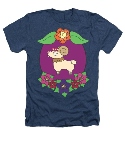 Cute Goat Heathers T-Shirt by Jadrien Douglas