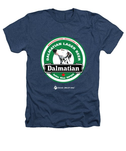Dalmatian Lager Beer Heathers T-Shirt