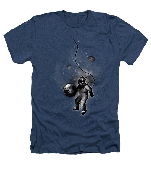 Deep Sea Space Diver Heathers T-Shirt by Nicklas Gustafsson
