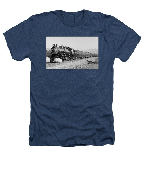 Deluxe Overland Limited Passenger Train Heathers T-Shirt