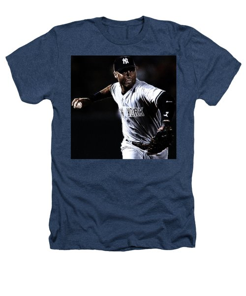 Derek Jeter Heathers T-Shirt by Paul Ward