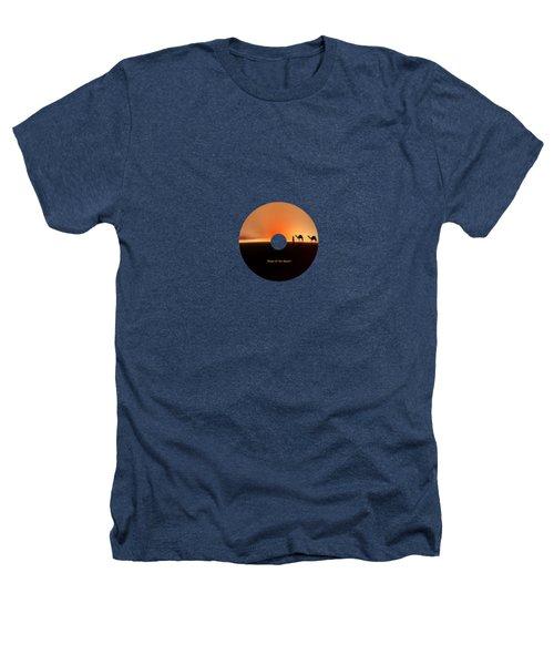 Desert Mirage Heathers T-Shirt by Valerie Anne Kelly