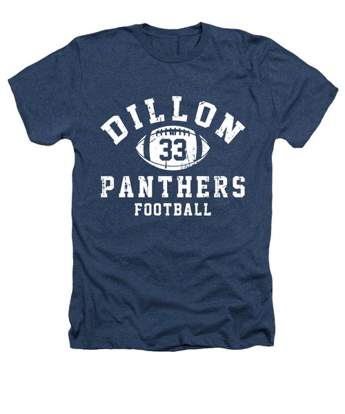Dillon Panthers Football Heathers T-Shirt