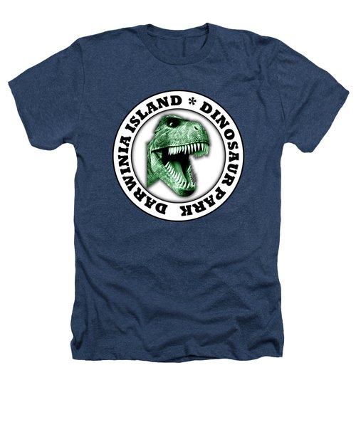 Dinosaur Park Heathers T-Shirt by Gaspar Avila