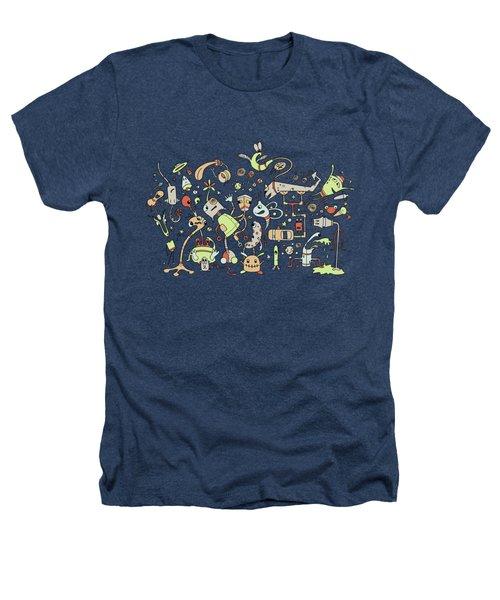 Doodle Bots Heathers T-Shirt