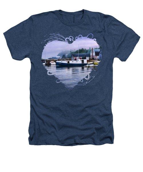 Door County Gills Rock Fishing Village Heathers T-Shirt