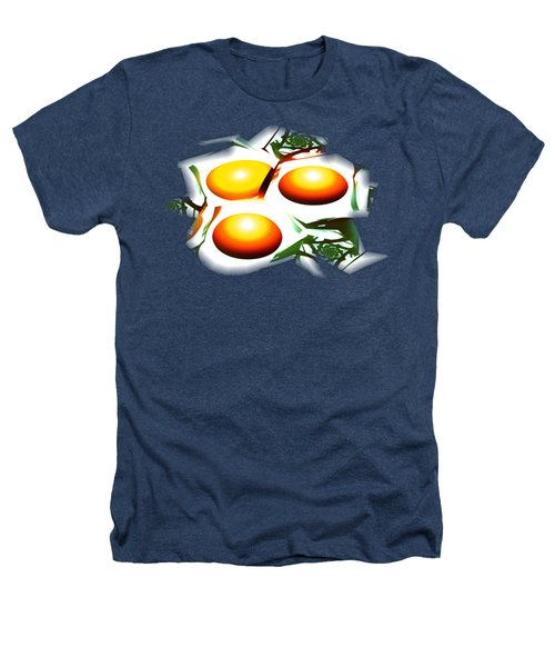 Eggs For Breakfast Heathers T-Shirt by Anastasiya Malakhova