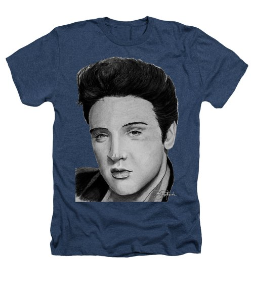 Elvis A Presley Heathers T-Shirt by Bill Richards