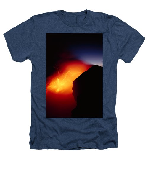 Explosion At Twilight Heathers T-Shirt by William Waterfall - Printscapes