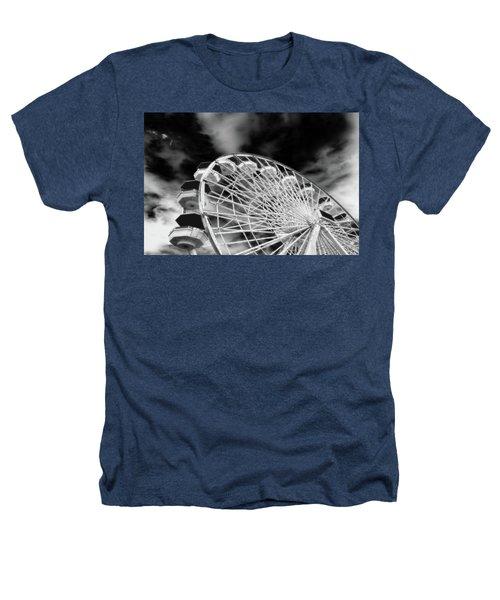 Ferris Wheel Santa Monica Pier Heathers T-Shirt