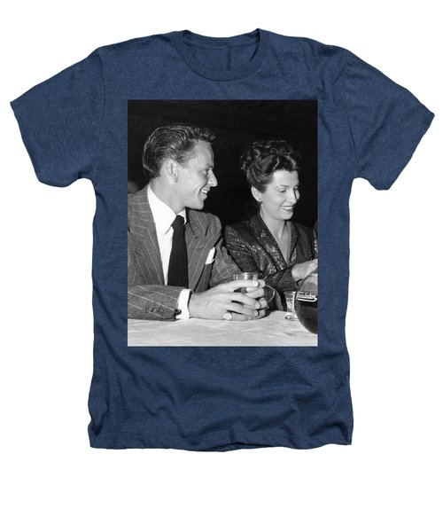 Frank Sinatra And Nancy Heathers T-Shirt by Underwood Archives