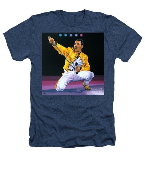 Freddie Mercury Live Heathers T-Shirt