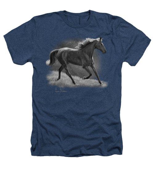 Free - Black And White Heathers T-Shirt