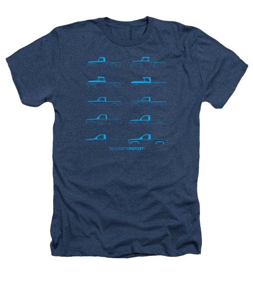 Fullsize Pickup Silhouettehistory Heathers T-Shirt by Balazs Iker
