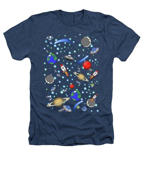 Galaxy Universe Heathers T-Shirt