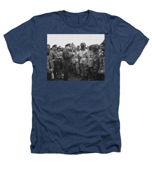 General Eisenhower On D-day  Heathers T-Shirt