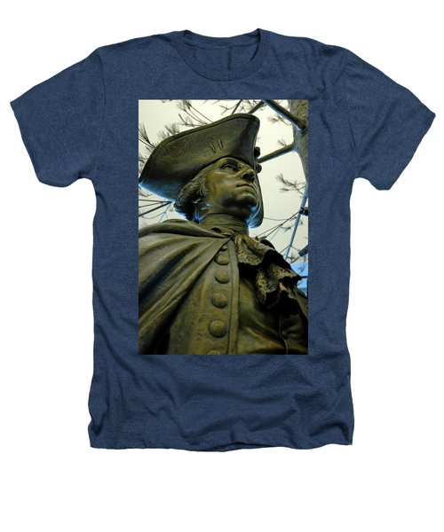 General George Washington Heathers T-Shirt by LeeAnn McLaneGoetz McLaneGoetzStudioLLCcom
