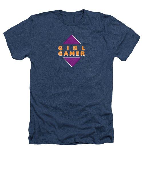 Girl Gamer Heathers T-Shirt by Linda Woods